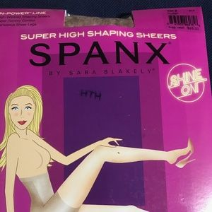 Spanx Super High Shaping Sheers - NUDE